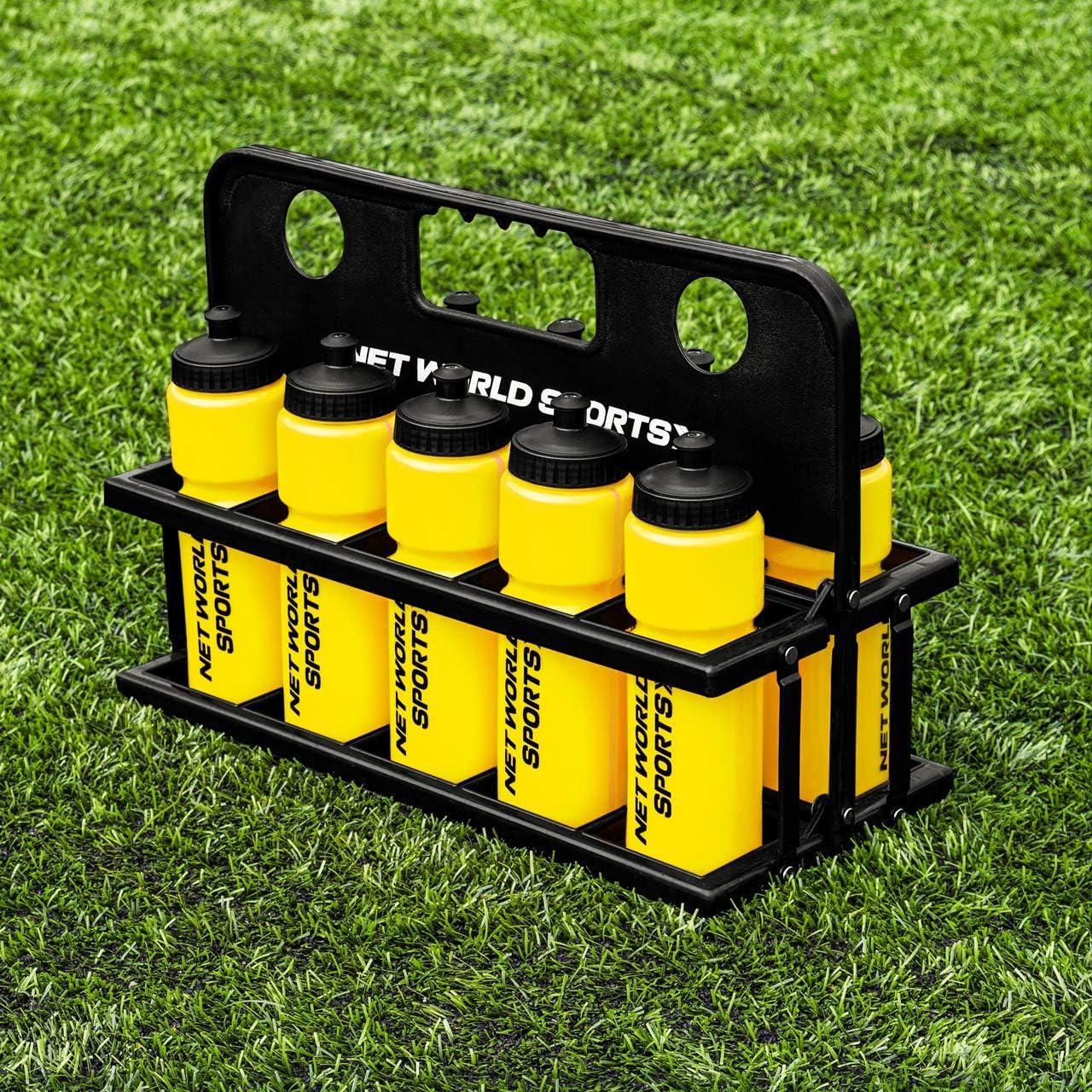 Net World Sports Forza 10 Botellas de Agua 750ml y Porta Botellas