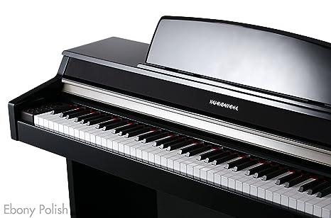 Kurzweil MP10 BP Piano Digital mueble negro brillante: Amazon.es: Instrumentos musicales