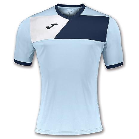 Joma Teamwear T-Shirt Crew II Short Sleeves Light Blue-Navy