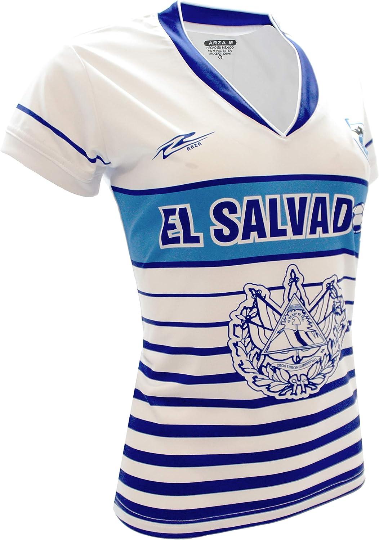 Arza Sports El Salvador Slim Women Soccer Jersey
