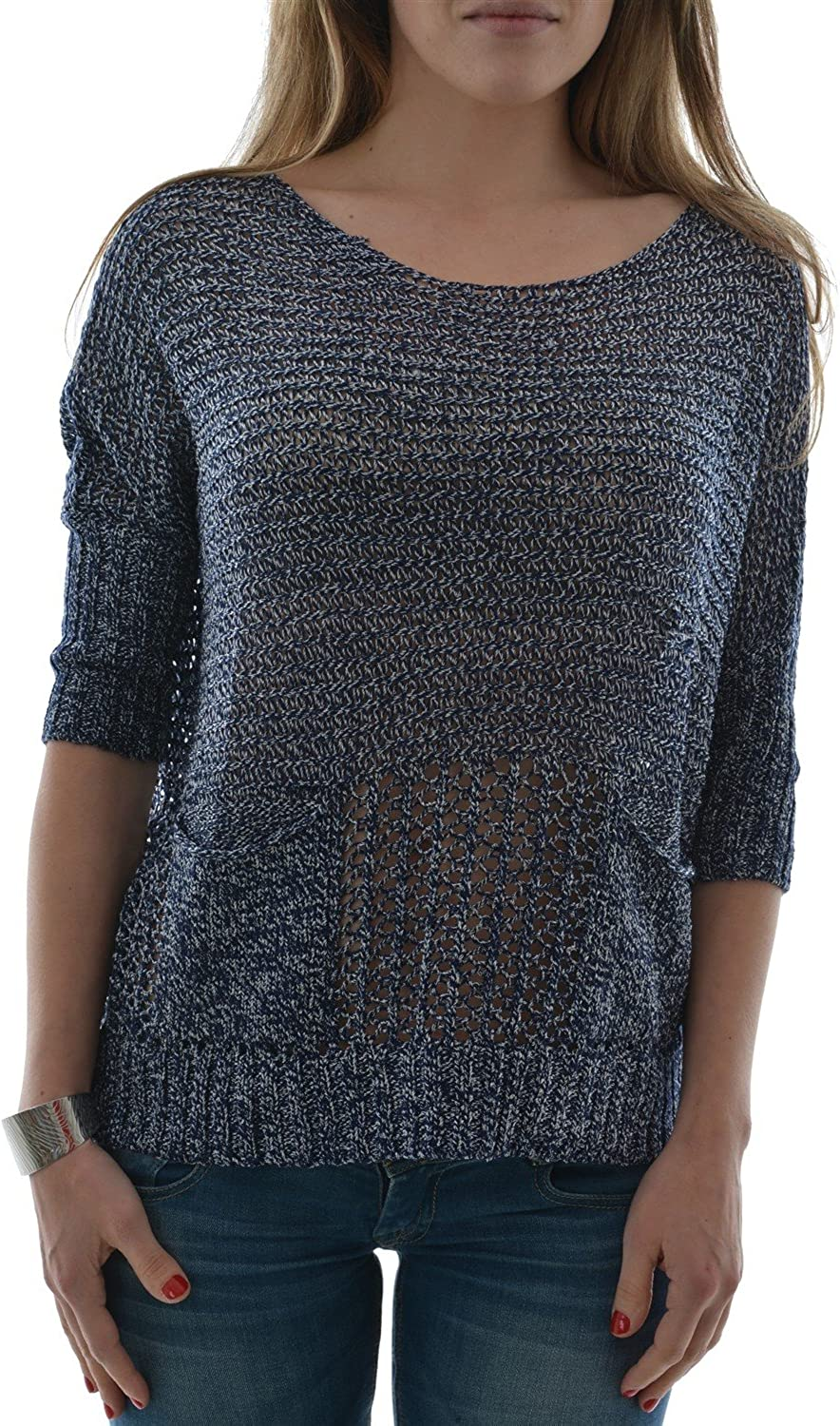 Molly Bracken Taille Unique Pull léger Star Ladies Knitted