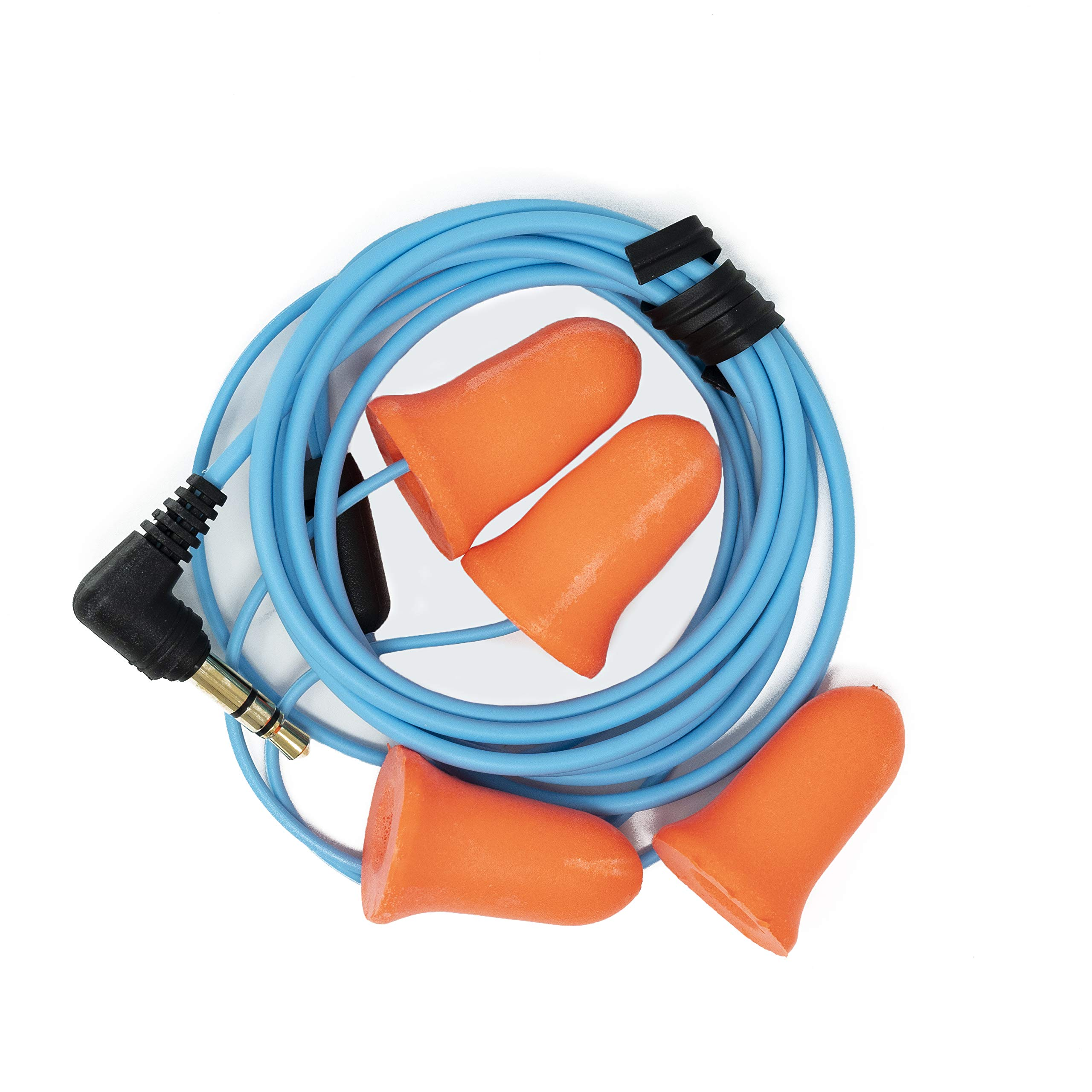 Plugfones Ear Plugs / Earbuds - 1st Generation (Orange) () by Plugfones (Image #2)