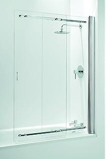 coram showers ssl2105cuc parete doccia a scorrimento per vasca da bagno a doppia anta