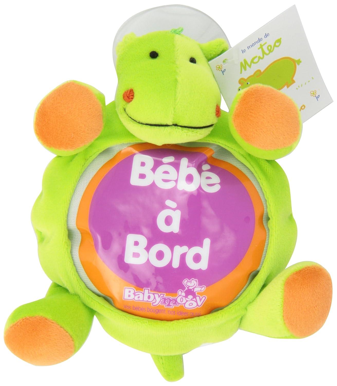 Babymoov 291000 - Hipopótamo con ventosa y cartel de
