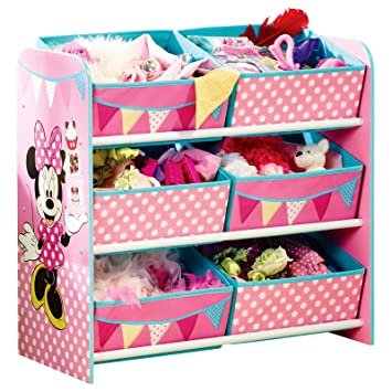 Amazon.de: TW24 Aufbewahrungsregal - Spielzeugkiste - Spielzeugtruhe ...
