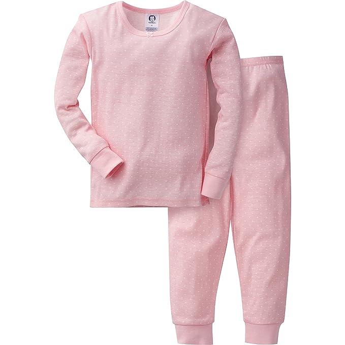 52a999c0 Gerber - Pijama de algodón para niña (2 Piezas): Amazon.com.mx: Ropa ...