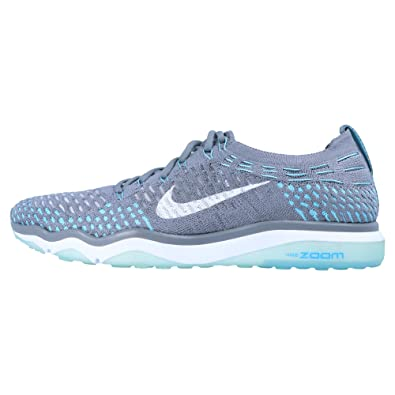 Nike Performance W Air Zoom Fearless Flyknit Damen Sneaker Hellgrau