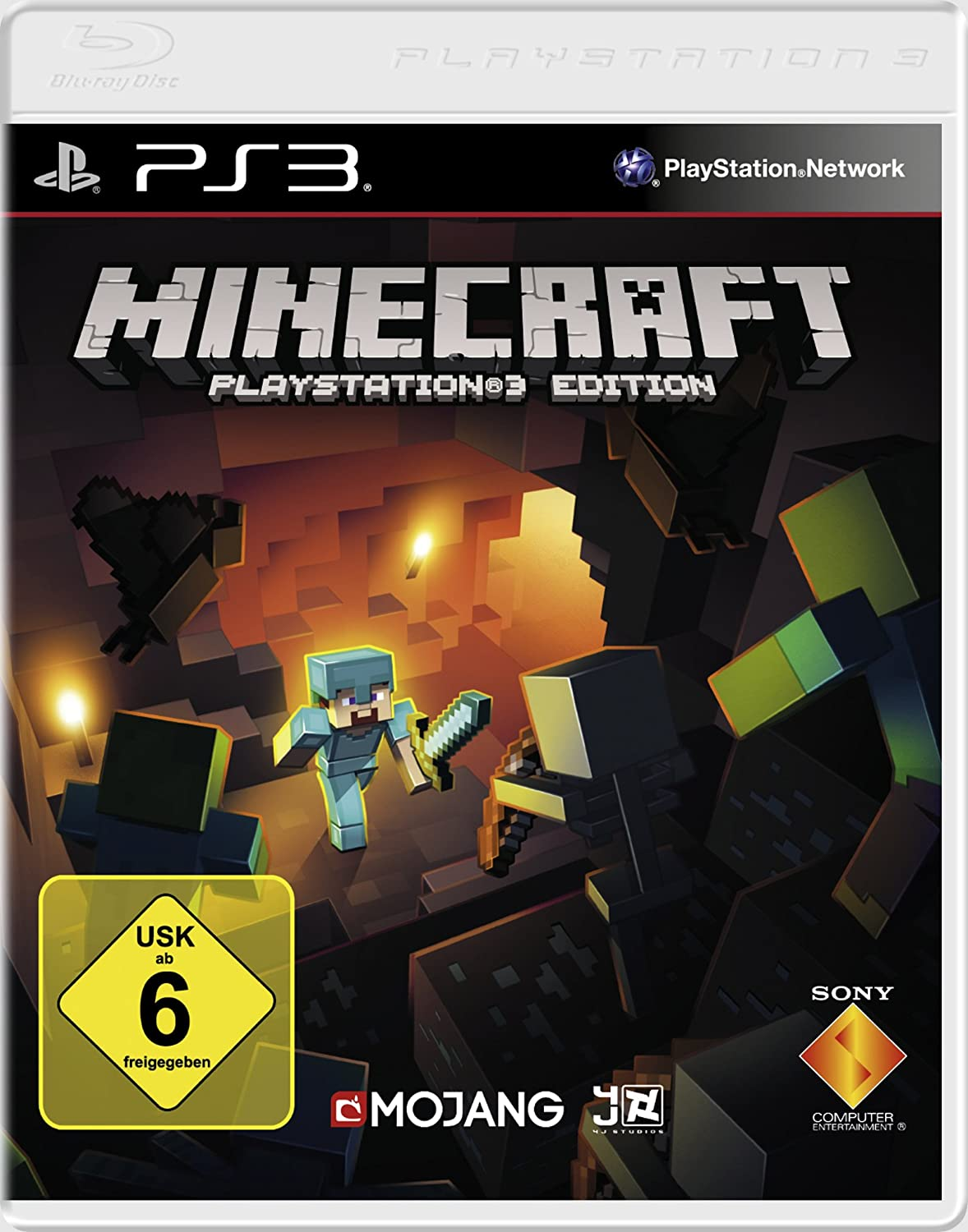 Minecraft Playstation Edition Amazonde Games - Minecraft real spielen