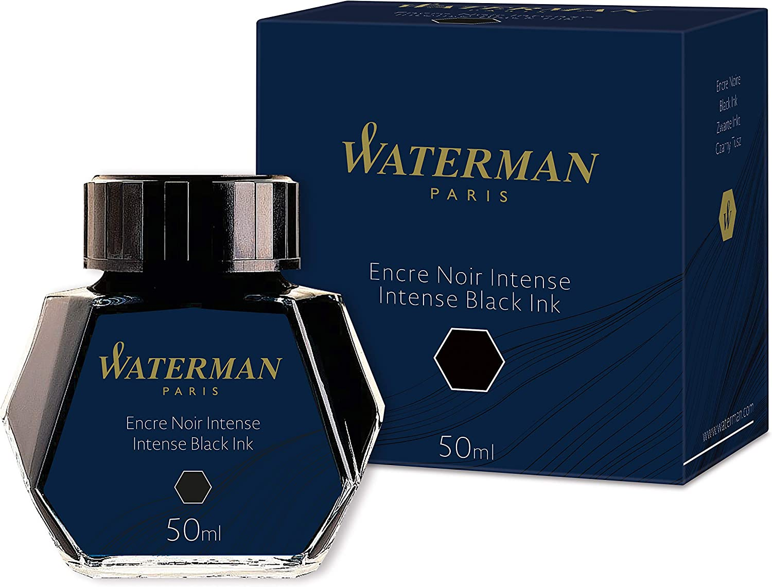 Waterman 50ml Ink Bottle for Fountain Pens