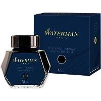 Waterman S0110710 Fountain Pen Ink, Intense Black, 50 Millilitre Bottle