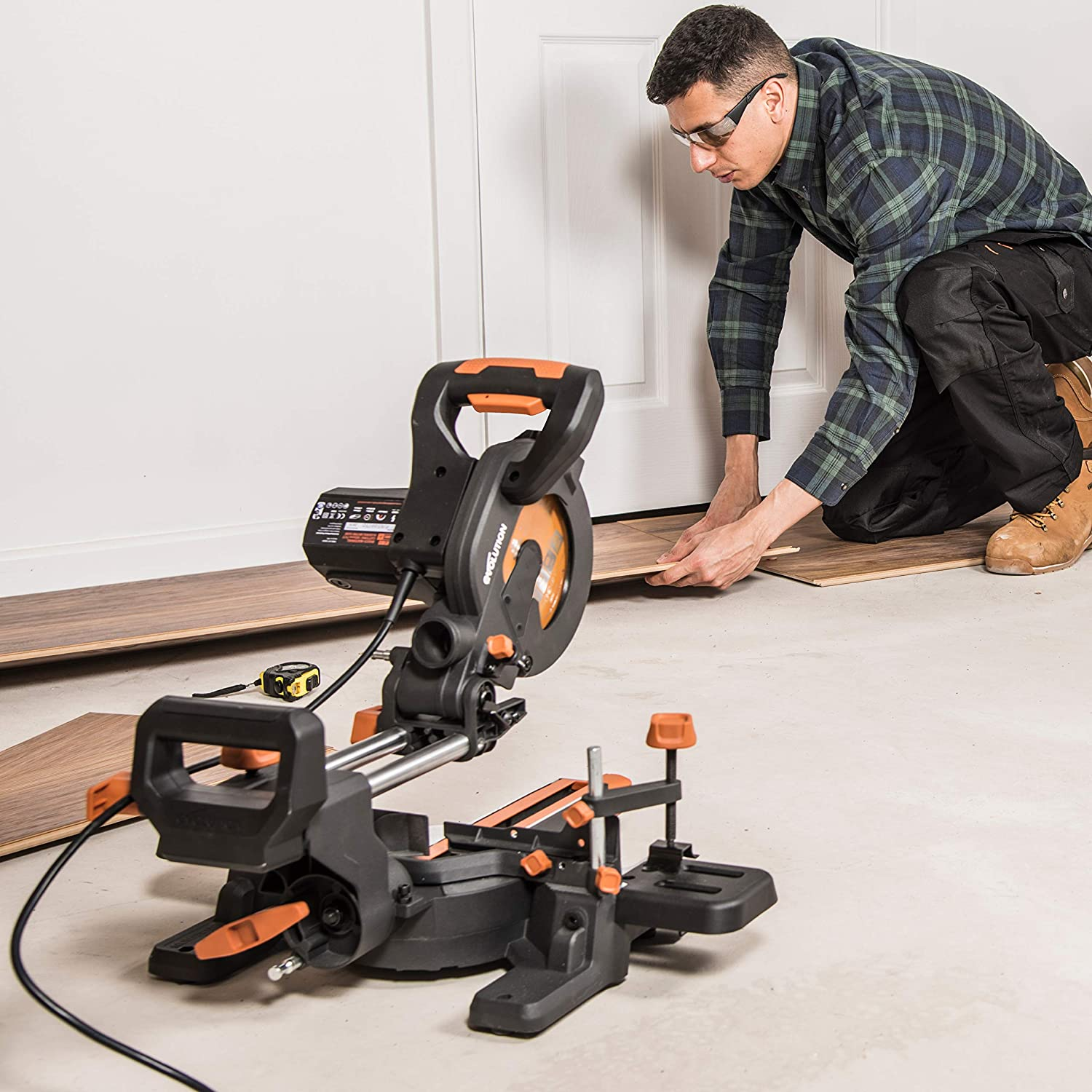 Evolution Power Tools Multi-Material Compound Sliding Miter Saw  review