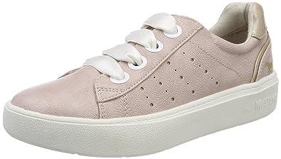 1268-302-555, Sneakers Basses Femme, Rouge (Rose), 39 EUMustang