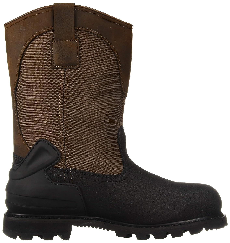 3ef42b0e14d Carhartt Men's CSA 11-inch Wtrprf Insulated Work Wellington Steel Safety  Toe Cmr1899 Industrial Boot