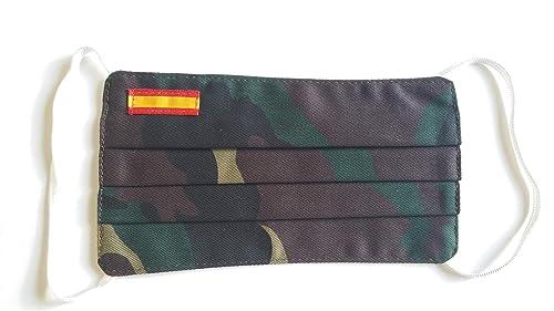 Tela camuflaje con bandera España doble tela: Amazon.es: Handmade