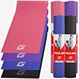 Yoga Mat 3mm Non Slip Thick Anti Tear Eco Friendly Fitness Exercise Pilates Gym Workout Yoga Mats Men Women Clearance Sale Free Shipping Only £6.19
