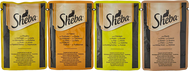 Sheba - Selección en Salsa, 5100 g
