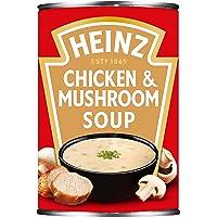 Heinz Cream of Chicken and Mushroom Soup, 400 g