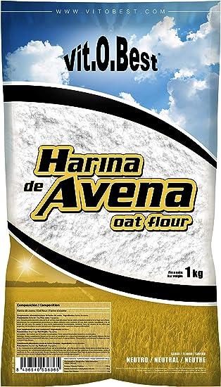 Harina de Avena Sabores Variados - Suplementos Alimentación y Suplementos Deportivos - Vitobest (Neutra, 1 Kg): Amazon.es: Salud y cuidado personal