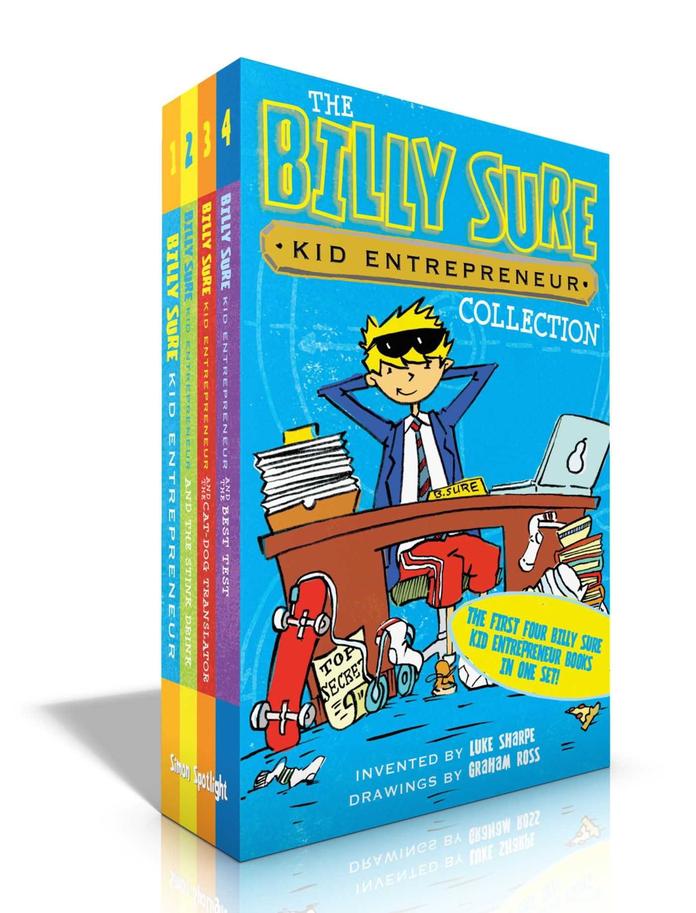 The Billy Sure Kid Entrepreneur Collection: Billy Sure Kid Entrepreneur; Billy Sure Kid Entrepreneur and the Stink Spectacular; Billy Sure Kid Billy Sure Kid Entrepreneur and the Best Test