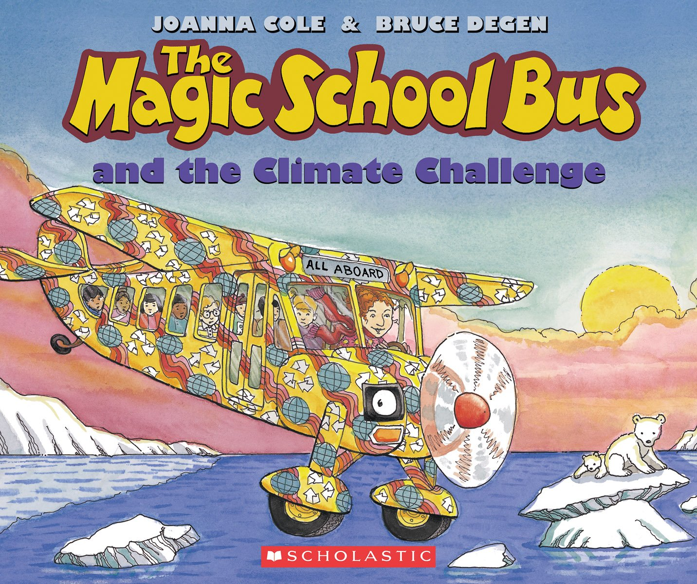 Download The Magic School Bus and the Climate Challenge pdf epub