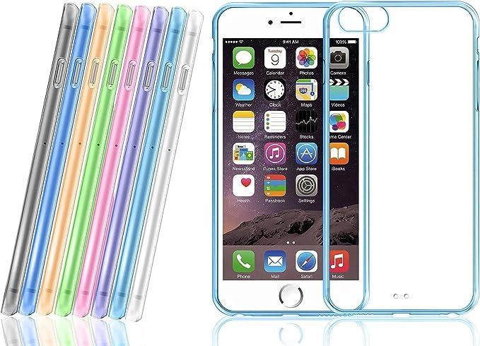 Fundas Basicas circulos colores para iPhone 6 / 6s