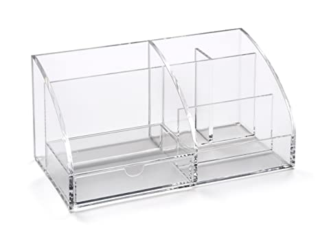 Osco organisateur de bureau acrylique transparent amazon