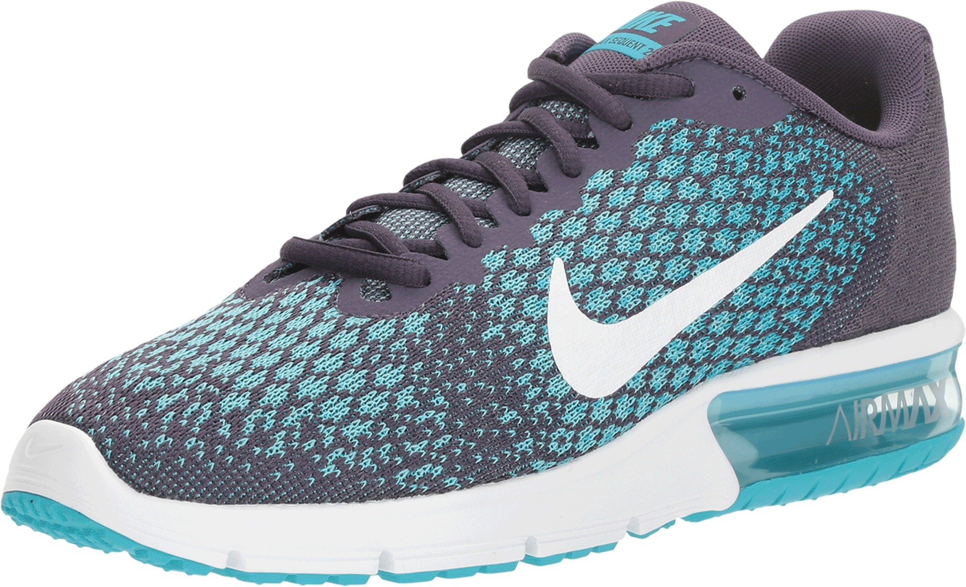 NIKE Women's WMNS Air Max Sequent 2, Dark RaisinWhite, 5.5 M US