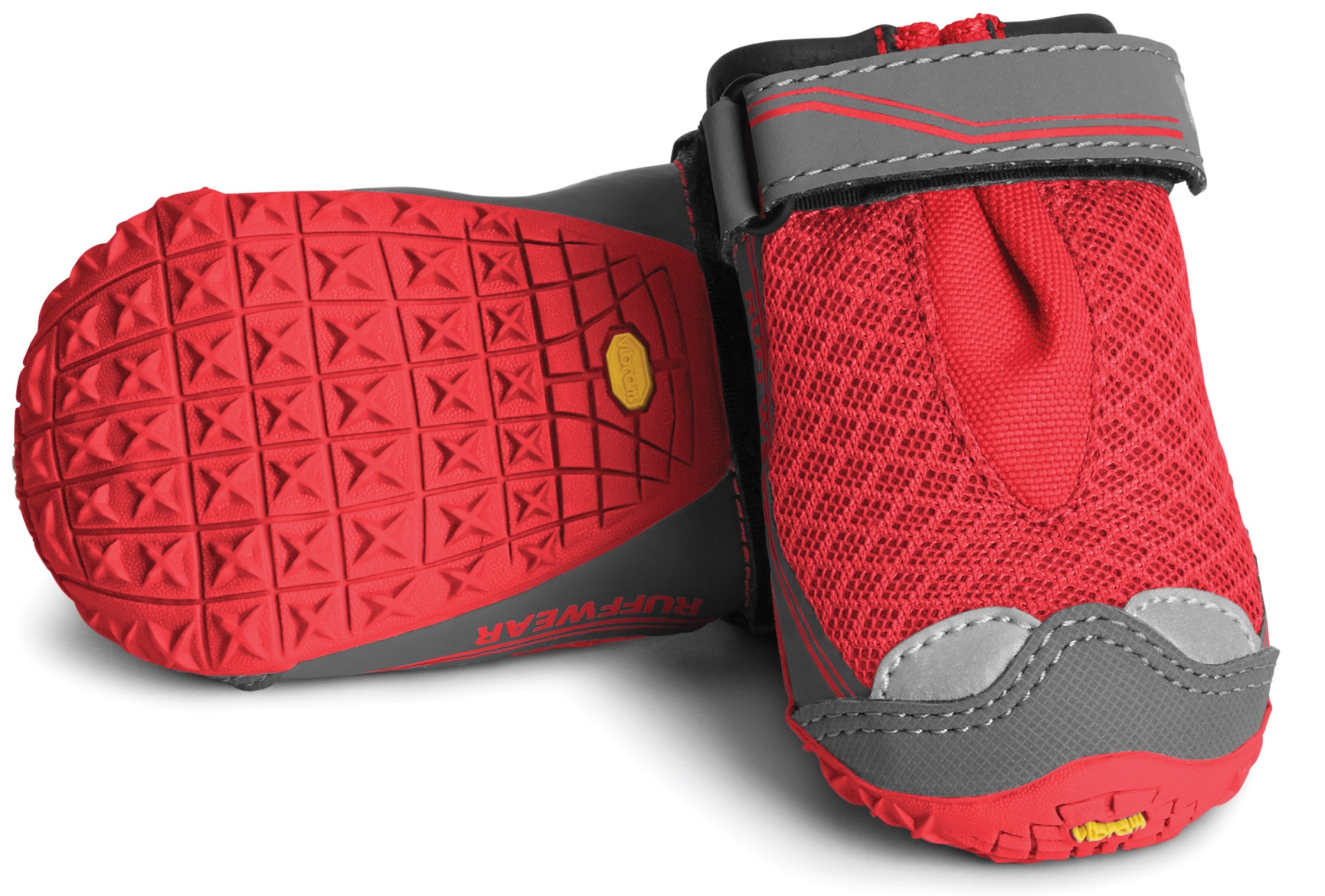 Ruffwear Grip Trex Boots for Dogs (2.5-Inch, New Red Currant)