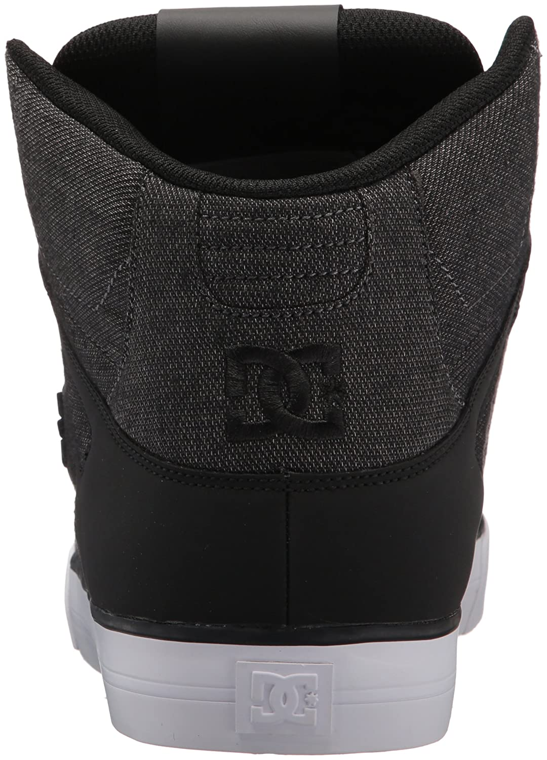 DC Shoes Men's Pure High Top WC TX SE Sneaker Shoes Black 9.5