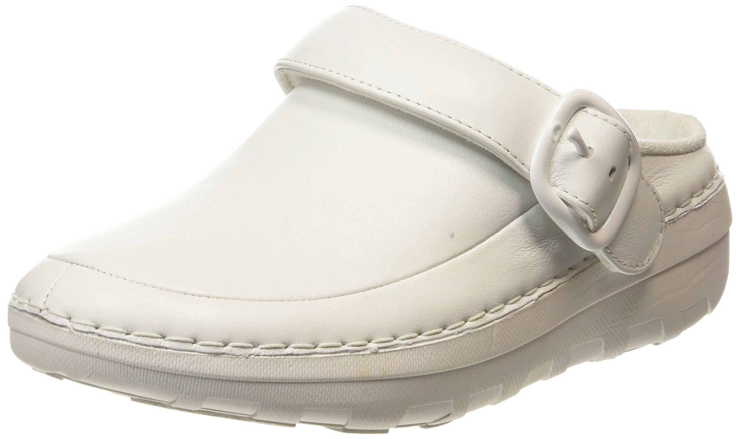 FitFlop Women's Gogh PRO Superlight Medical Professional Shoe, Urban White, 8.5 M US