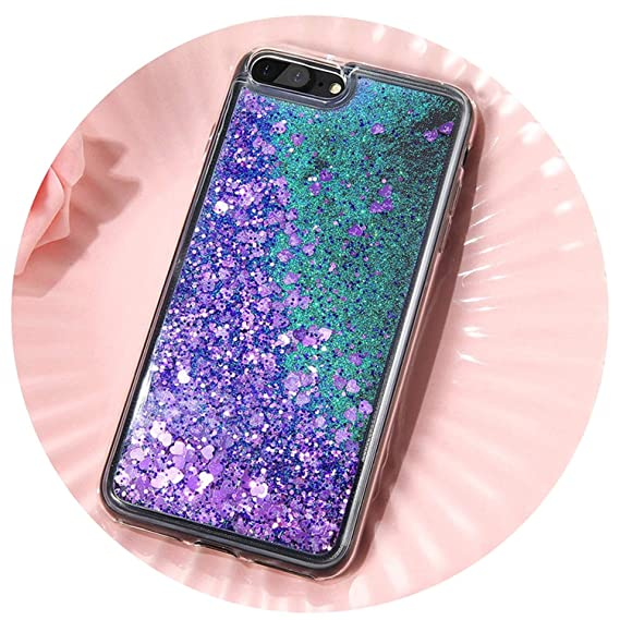 Image Unavailable. Image not available for. Color  Bling Liquid Quicksand  Phone Case for iPhone Xs Max Xr X 8 7 Plus Shiny Sequin f83e577653d8