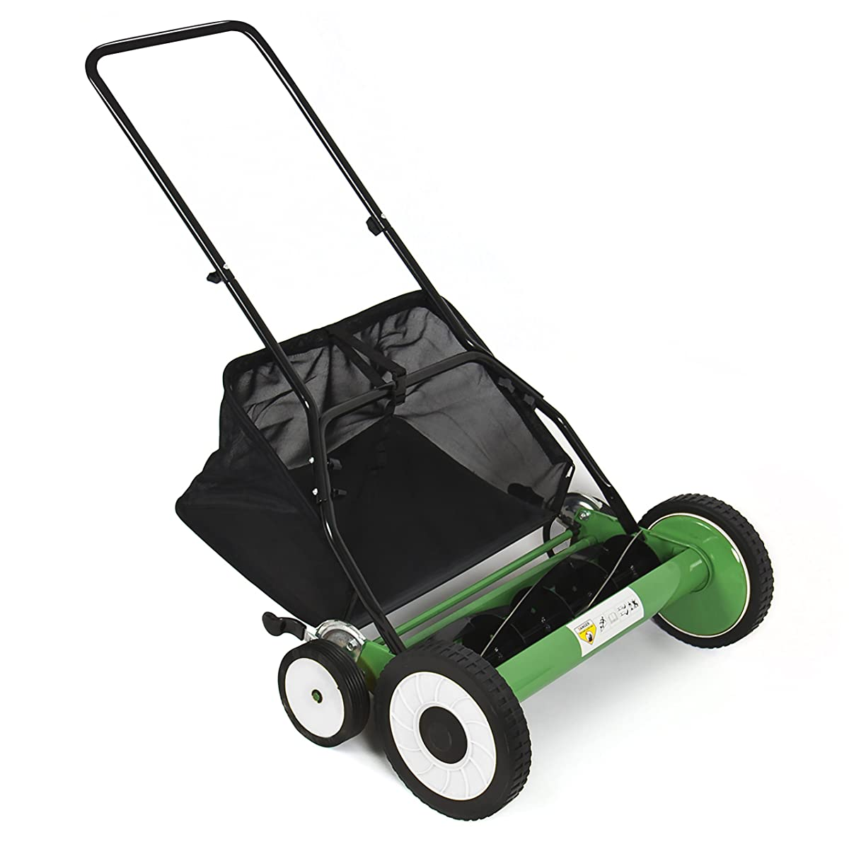 "Best Choice Products Lawn Mower 20"" Classic Hand Push Reel W/ Grass Catcher 6 Adjustable Height 20"""