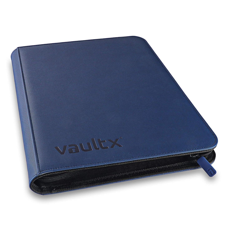 360 Tasche totali con Apertura Laterale Vault X /® Premium Raccoglitore eXo-Tec/® Album con Buste a 9 Tasche per Carte da Gioco collezionabili