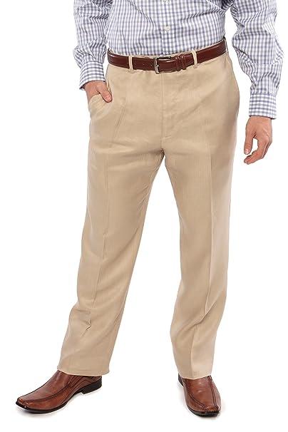 texeresilk texere hombre ajustable traje de lino pantalones ...