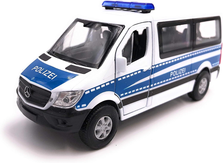 H Customs Welly Mercedes Benz Sprinter Polizei Modellauto Auto Lizenzprodukt 1 34 1 39 Auto