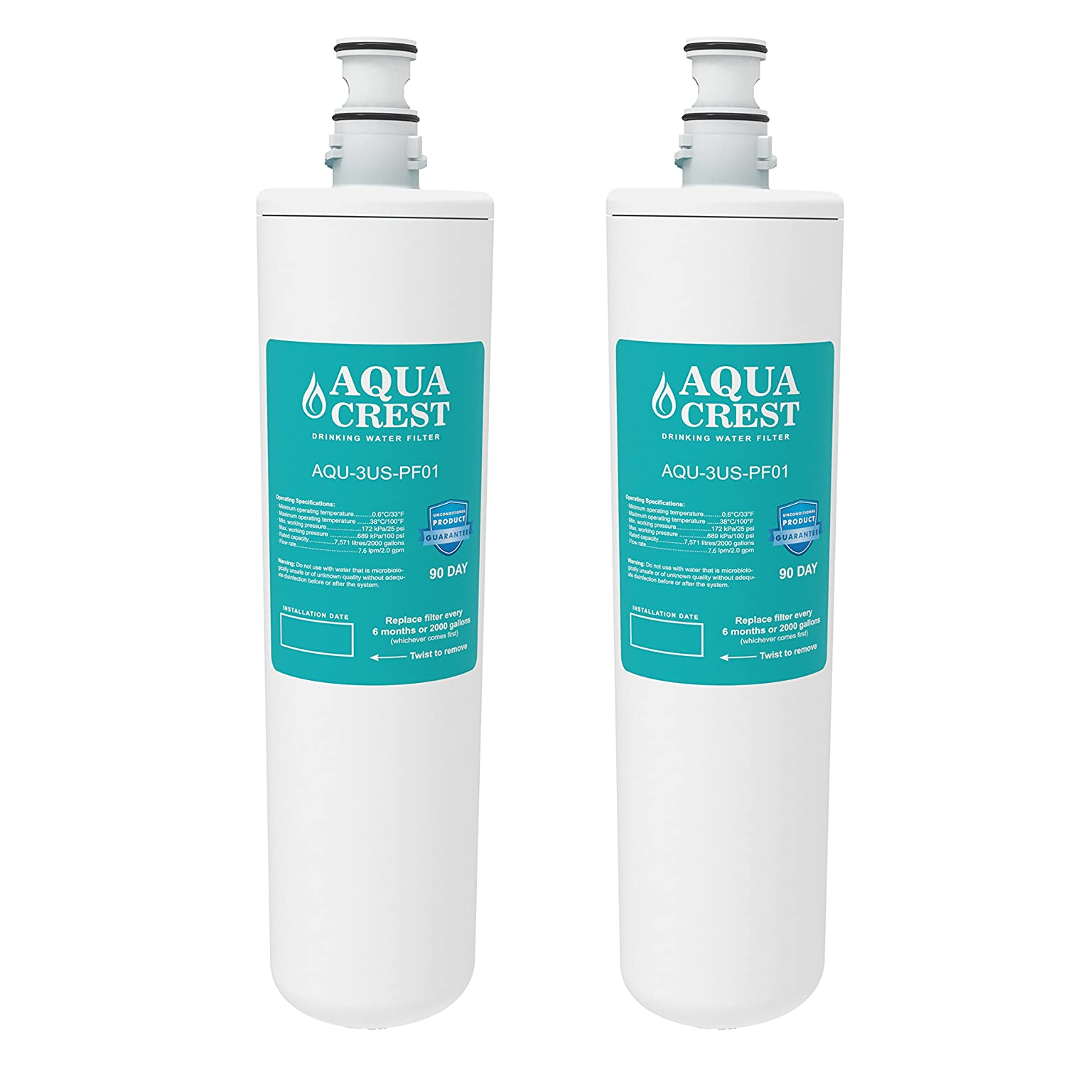Aquacrest adavanced water filter replacement for filtrete for Water feature filter system