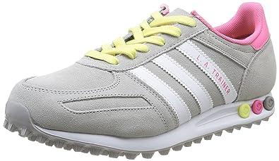 Adidas Sneaker Damen Grau Pink