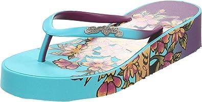 ED HARDY Women's Kim Flip Flop Sandals