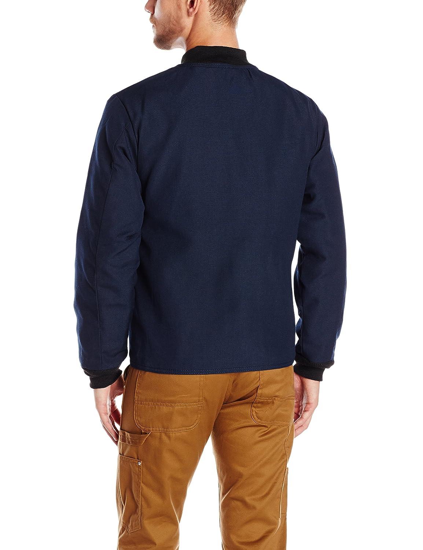 27baf23c3e16 Amazon.com  Bulwark Flame Resistant 4.5 oz Nomex IIIA Regular Sleeved Jacket  Liner with Two Large Slash-Welted Pockets