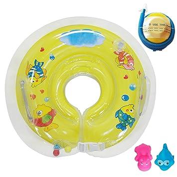 Raintwo Bebé Flotador de Cuello Niños Flotadores Dispositivos para Bebés de 6-36 meses con