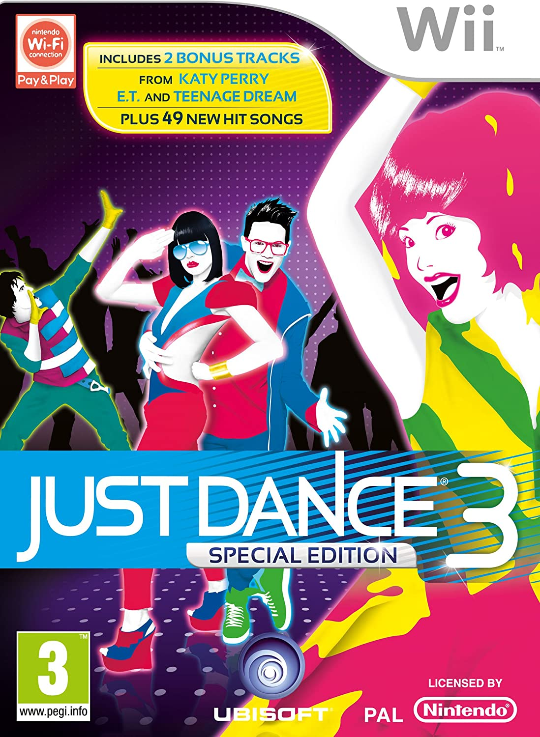 Just Dance 3 - Special Edition (Wii)[Importación inglesa]: Amazon.es: Videojuegos