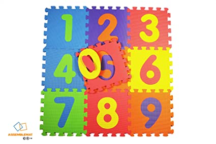 36 Soft Foam Floor Mat Alphabet Number Jigsaw EVA Interlocking Baby Kids Play CB
