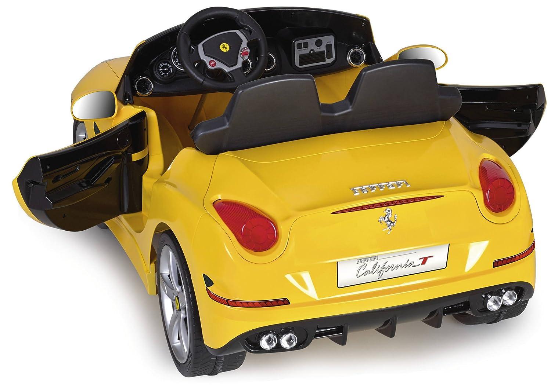 Amazon.com: FEBER Ferrari equitación vehículo, amarillo ...