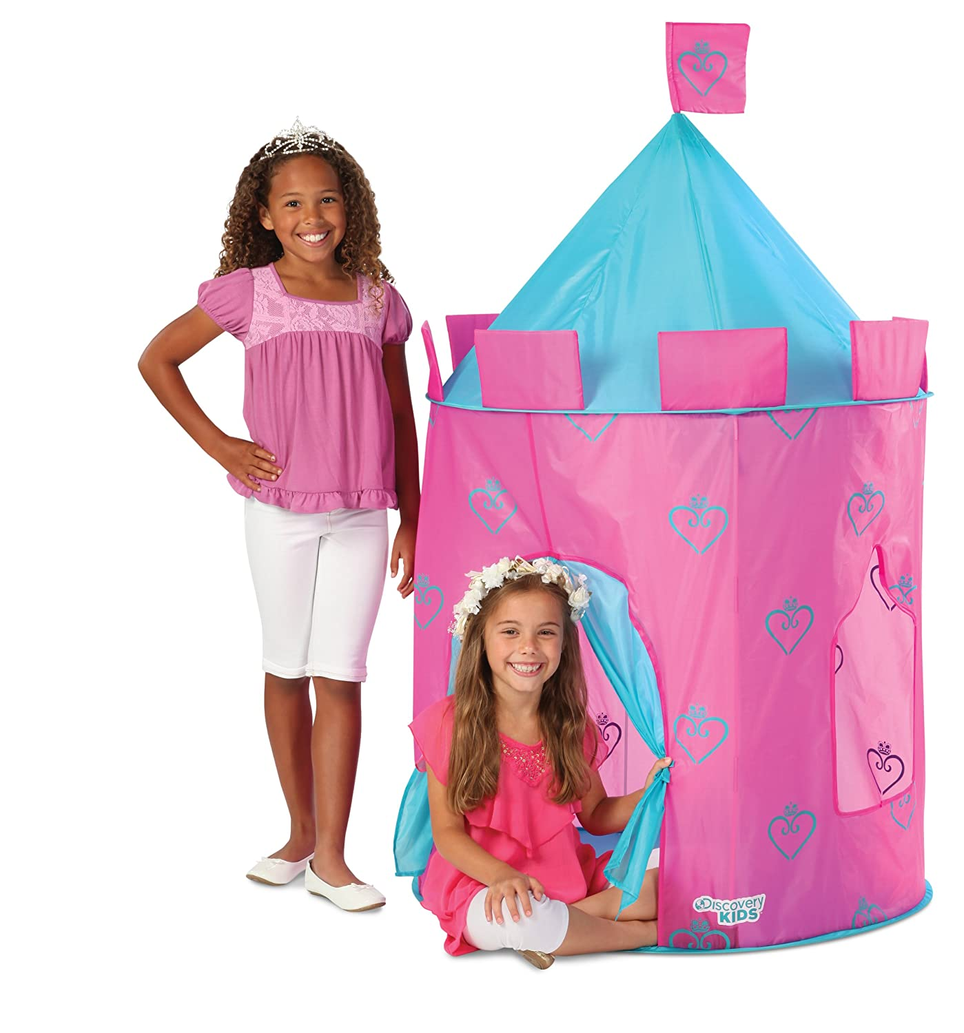 Amazon.com Discovery Kids Indoor and Outdoor Princess Play Castle Toys u0026 Games  sc 1 st  Amazon.com & Amazon.com: Discovery Kids Indoor and Outdoor Princess Play Castle ...