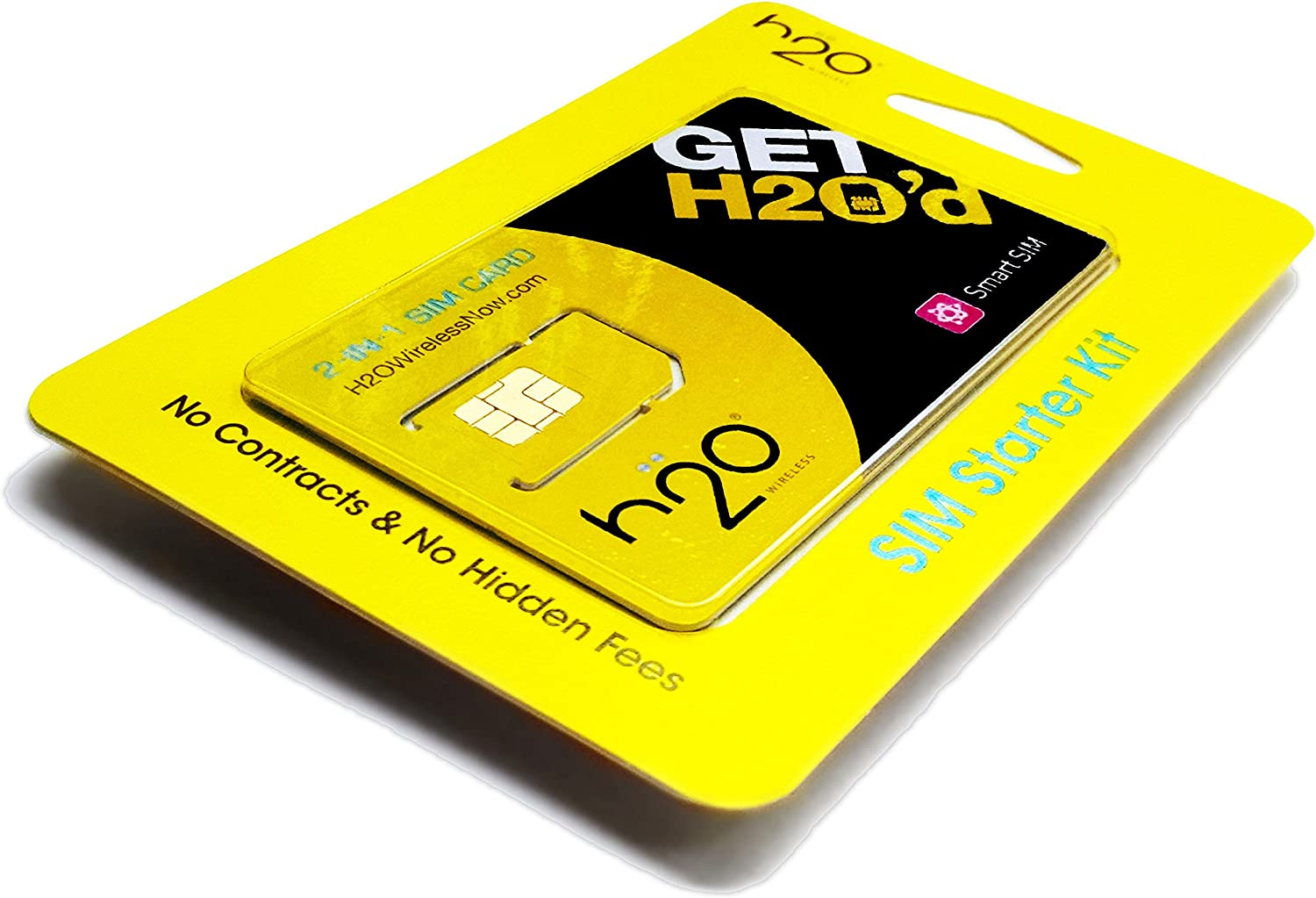 Wireless Micro H2O H20/mini tarjeta SIM for any libre GSM phone w / $30 Airtime by HJ Wireless: Amazon.es: Hogar