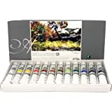 Marie's Acrylic Colour Paint Set - 12ml Tubes - Assorted Colors - [Set of 12]