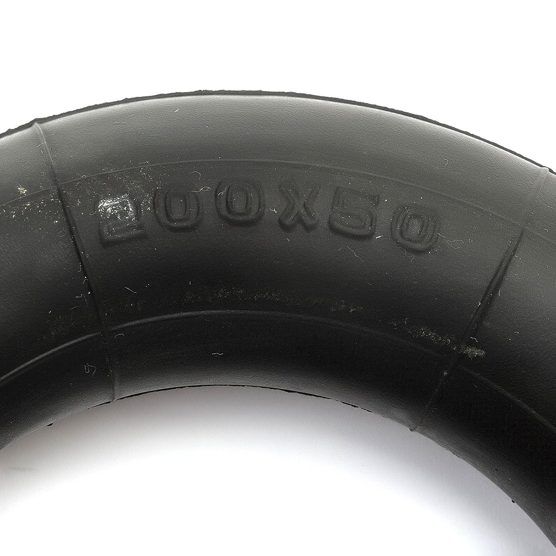 Tyre /& Inner Tube 200 x 50 Treaded Petrolscooter