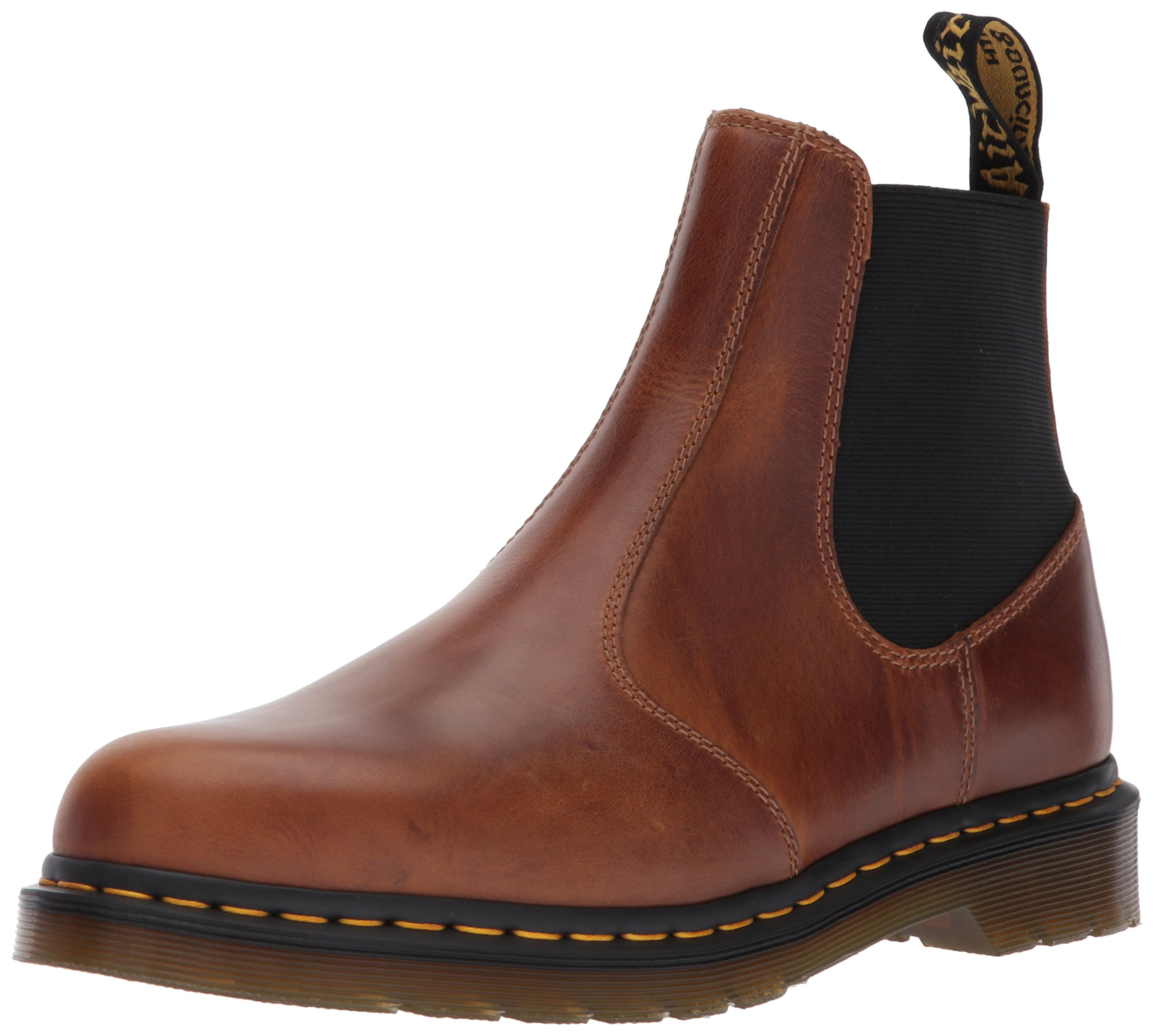 Dr. Martens Men's Hardy Chelsea Boot, Butterscotch, 7 Medium UK (8 US) by Dr. Martens