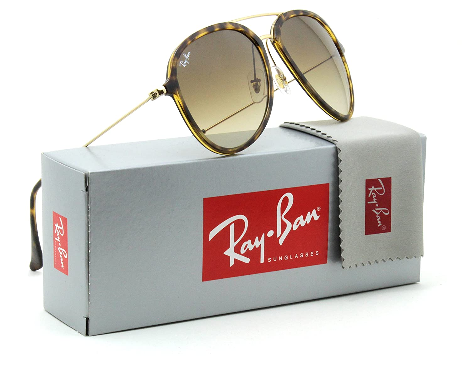 71059047556 Amazon.com  Ray-Ban RB4298 Unisex Pilot Gradient Sunglasses 710 51 - 57mm   Clothing