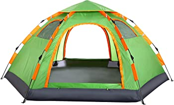 Wnnideo 10x8-Foot Instant Family Automatic Pop-Up Tent